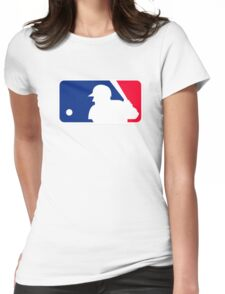 baseball Womens Fitted T-Shirt