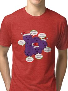 MEMBERBERRIES MEMBER CHRISTMAS| LIMITED eDITION 250 aVAILABLE  Tri-blend T-Shirt