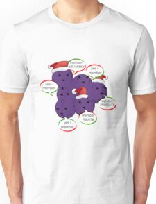 MEMBERBERRIES MEMBER CHRISTMAS  LIMITED eDITION 250 aVAILABLE  Unisex T-Shirt