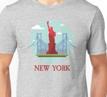 New York City NYC Manhattan I Love NYC Visitor Tourist Travellers Edition  Unisex T-Shirt