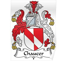 Chaucer Coat of Arms (English) Poster
