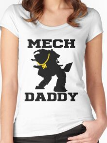 Mech Daddy Women's Fitted Scoop T-Shirt