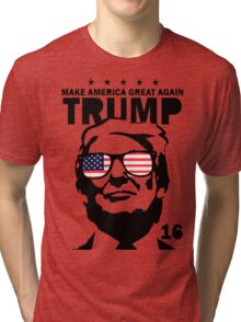 Donald Trump Make America Tri-blend T-Shirt