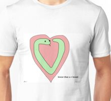 Snek Heart - Tiny Snek Comics Unisex T-Shirt