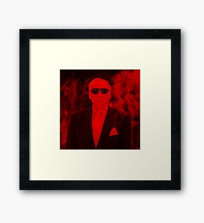 Mel Brooks - Celebrity (Square) Framed Print