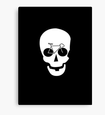 Bike Skull Canvas Print