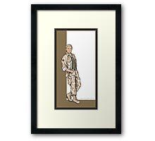 Captain John Watson Framed Print