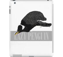 Lazy Penguin iPad Case/Skin