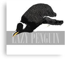 Lazy Penguin Canvas Print