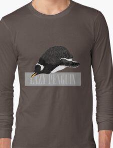 Lazy Penguin Long Sleeve T-Shirt