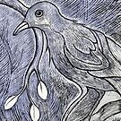 Bird on a Branch by Ivana Redwine