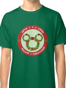Mickey Christmas Holiday Design Classic T-Shirt