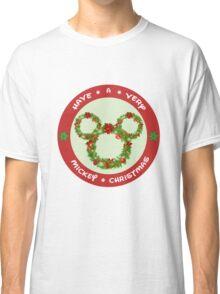 Mickey Christmas Holiday Design Classic T-Shirt