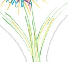 Drawn Daisy Sticker