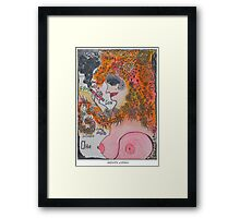 D E V O U T and PUSSY CAT  from Kingdom of Galicia and Lodomeria . Who Dares Wins ...❤‿❤ .  Framed Print