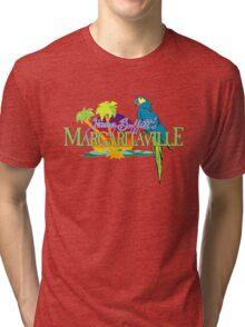 Jimmy Buffett Margaritaville Logo Tri-blend T-Shirt