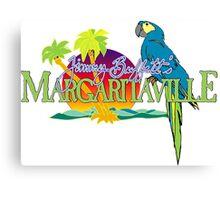 Jimmy Buffett Margaritaville Logo Canvas Print