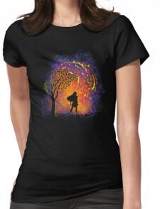 Colours Of The Wind Womens Fitted T-Shirt