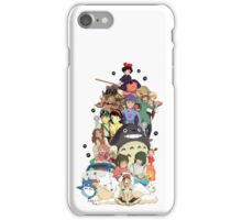 Studio Ghibli Characters iPhone Case/Skin