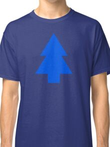 Dipper Pines Tree Shape // Gravity Falls Classic T-Shirt