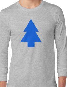 Dipper Pines Tree Shape // Gravity Falls Long Sleeve T-Shirt