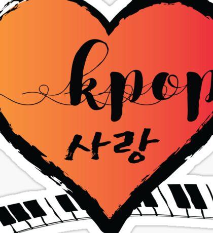 KPOP SARANGHEART K-POP Sticker