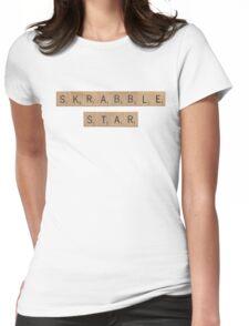 Skrabble (Scrabble) Star Womens Fitted T-Shirt