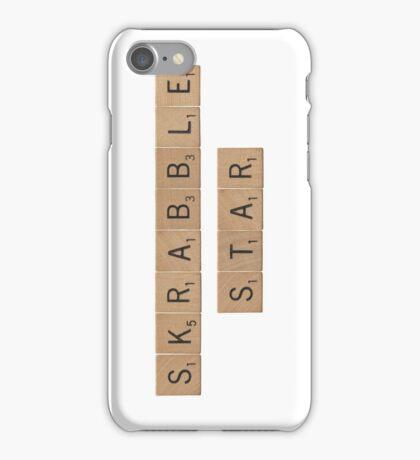 Skrabble (Scrabble) Star iPhone Case/Skin