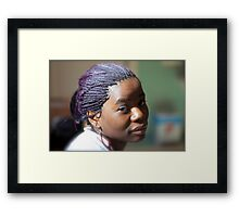 Mount Kilimanjaro  -  Magic  Women . by Brown Sugar . Featured ***** . Views 1038.  .Thanks so much !!! Awwwwwsssss !!! Framed Print