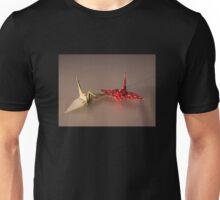 Japanese Origami Crane Unisex T-Shirt