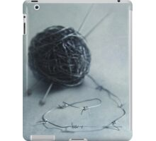 Lets knit a bit iPad Case/Skin