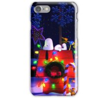 CHARLIE BROWN PEANUTS SNOOPY XMAS MATA 1 iPhone Case/Skin