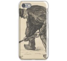 Digger The Hague, November  Vincent van Gogh iPhone Case/Skin