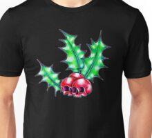 Holly skulls Unisex T-Shirt