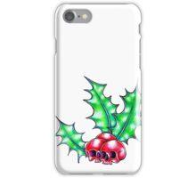 Holly skulls iPhone Case/Skin