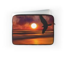 Dreams Fly Beyond Sunset Point   Laptop Sleeve