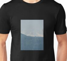 Red tail on the wind Unisex T-Shirt