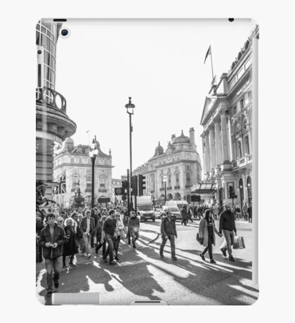 Piccadilly rush iPad Case/Skin