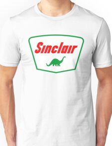 Oil lubricant Vintage Sinclair logo Unisex T-Shirt