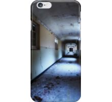 Corridor in decay iPhone Case/Skin