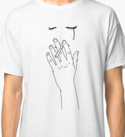 smoking cigarette Classic T-Shirt