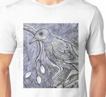Bird on a Branch Unisex T-Shirt
