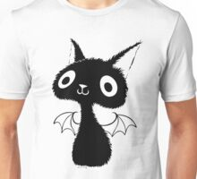 Black Bat-Cat Unisex T-Shirt
