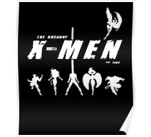 Uncanny X-Men Stand Poster