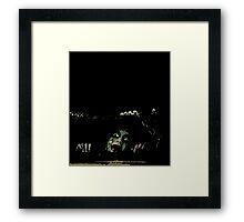 EVIL DEAD - CELLAR Framed Print