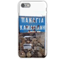 They enjoying shooting in Crete iPhone Case/Skin