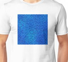 Mermaid Scales - Blue Unisex T-Shirt