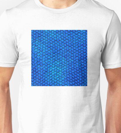 Mermaid Scales - Blue Unisex T-Shirt