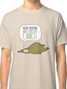 Sloth Wisdom.  Classic T-Shirt