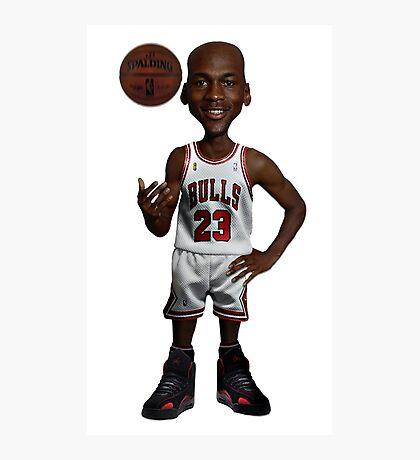 MJ - Basketball Photographic Print